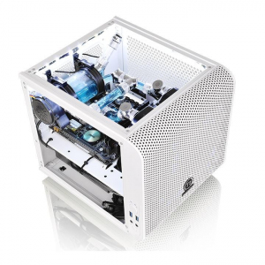 Obudowa Core V1 MiniITX Window - Snow Edition
