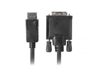 Kabel DisplayPort v1.2 DVI-D(24+1) 1.8M czarny CA-DPDV-10CU-0018-BK