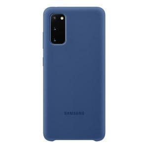 Etui Silicone Cover Navy do Galaxy S20+