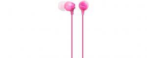 Słuchawki handsfree, mikrofon MDR-EX15AP Pink