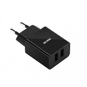 Ładowarka sieciowa USB CH204 2p/2,4A/12W