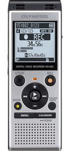 Dyktafon WS-852 4GB silver