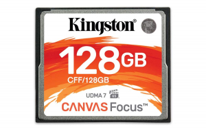 Karta pamięci CompactFlash Canvas Focus 128GB 150R/130W UDMA7 VPG-65