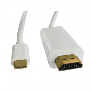 Kabel DisplayPort Alternate mode | USB 3.1 typC męski / HDMI męski | 4Kx2K | 2m