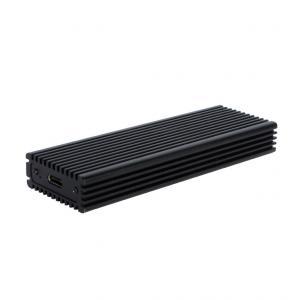 Obudowa zewnętrzna na dysk M.2 MySafe M-Key NVME SSD z interfejsem USB-C 3.1 Gen.2, transfer do 10 Gbps. aluminiowa