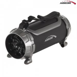 Głośnik bazooka AC890 bluetooth microSD czarny