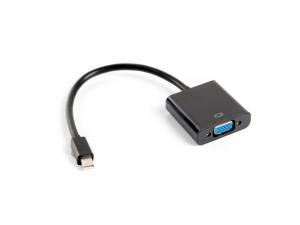 Adapter mini DisplayPort (M) -> VGA (F) na kablu