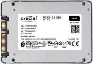 MX500 500GB Sata3 2.5'' 560/510 MB/s