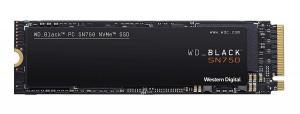 Black SSD 500GB SN750 NVMe WDS500G3X0C