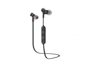 Słuchawki bezprzewodowe dokanałowe Extreme Media NSL-1337 z mikrofonem czarne