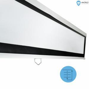 Ekran projekcyjny ścienny 221x124 (100