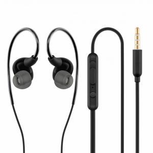 Słuchawki z mikrofonem douszne sportowe HE23
