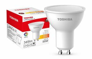 Lampa LED 4,5W 230V 345lm b.ciepły GU10