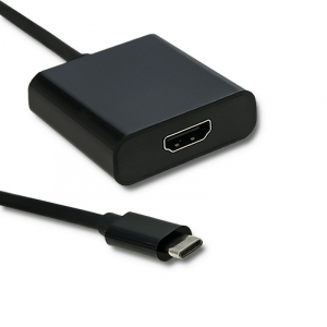 Adapter USB typ C męski   HDMI A żeński   4K   23cm