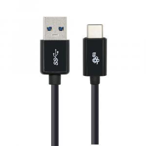 Kabel USB C - USB 3.1 1m. czarny