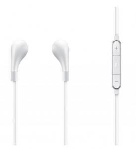 Słuchawki kablowe Fabric earphone White