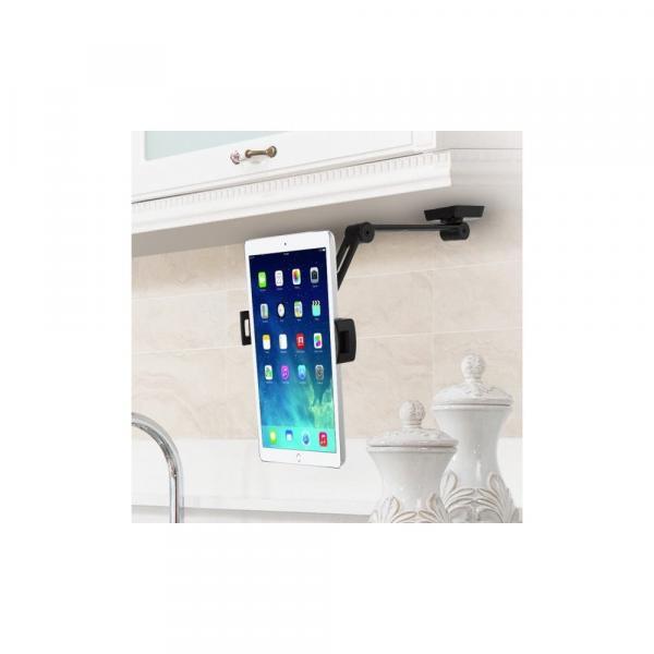 Ramię ścienne do tabletu i iPad 4.7-12,9 regulowane czarne