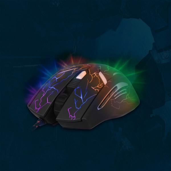 Mysz przewodowa 6 przycisków YMS 3017 AMBUSH optyczna