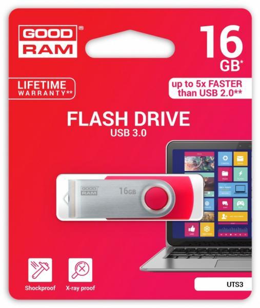TWISTER RED 16GB USB3.0