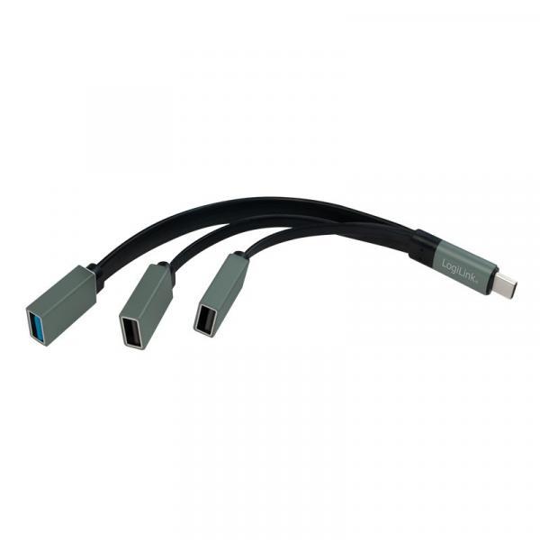 Hub USB-C 3.1, 3 porty