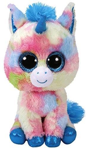 Maskotka TY Beanie Boos - Niebieski jednorożec Blitz 15 cm