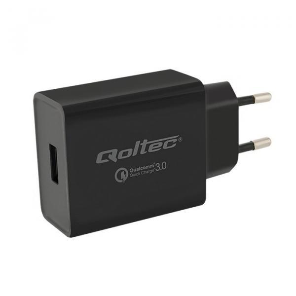 Ładowarka Quick Charge 3.0 | 5V-12V | 18W | USB