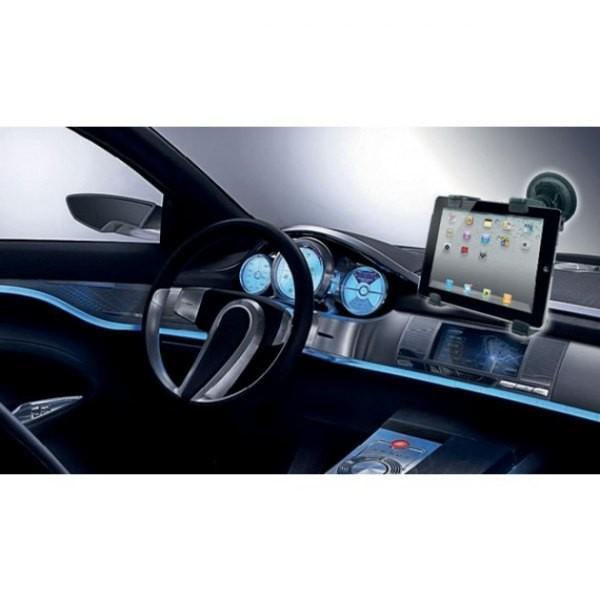 Uchwyt samochodowy do tabletu/iPad 7-10,1cali na szybę, czarny