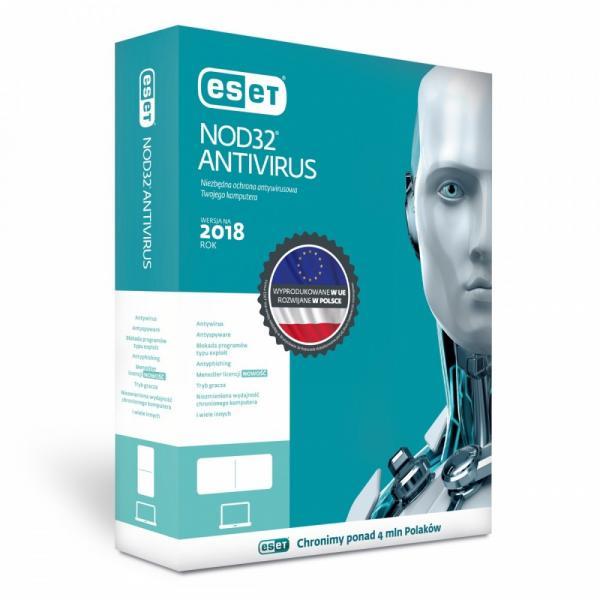 NOD32 Antivirus PL Box 1U 2Y ENA-N-2Y-1D