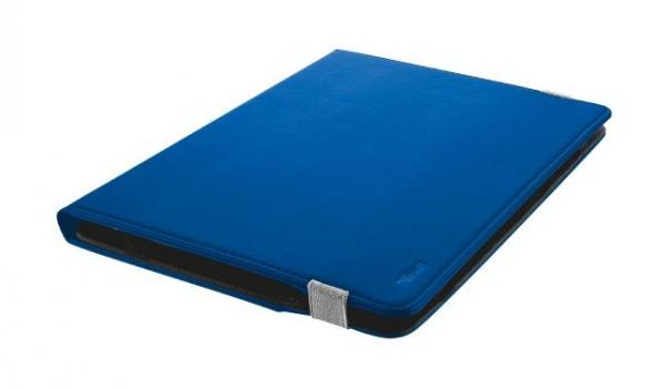 Futerał z podstawką do tabletów o przekątnej 10 cali - niebieski Primo