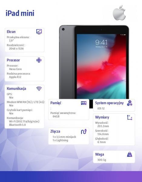 iPad mini Wi-Fi 64GB - Space Grey